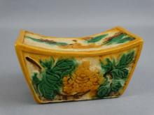 Tang Dynasty Tri-Glazed Pillow
