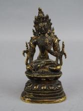 18c. Bronze Buddha