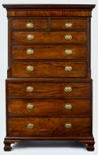 18th Century George III Chest on Chest