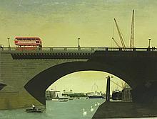 DAVID THOMAS, R.O.I., BRITISH, OIL ON BOARD View