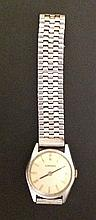 LONGINES, A VINTAGE STAINLESS STEEL WRISTWATCH  H