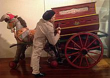 A LARGE EARLY 20TH CENTURY CONTINENTAL 'LA CIBELES' AUTOMATON