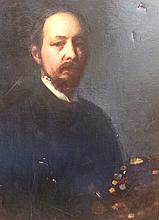 J. BOWLES, 19TH CENTURY OIL ON CANVAS