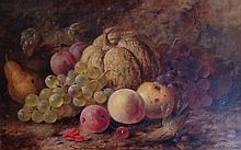 JAMES POULTON, BRITISH, 19TH CENTURY OIL ON BOARD