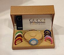 A LADIES GUCCI WRISTWATCH