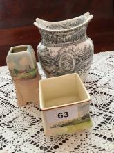 3x Royal Doulton Items