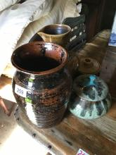 Various Pottery Items x 4