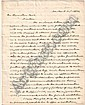 HAMILTON JR., ALEXANDER. Autograph Letter Signed, to Hamilton Fish, concerning the publication of his father's papers, asking for his assistance in