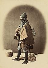 BEATO, FELICE (1832-1909) Select group of 21 artful photographs of Japan,