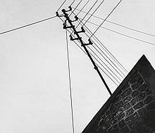 KERTÉSZ, ANDRÉ (1894-1985) Paris rooftops.