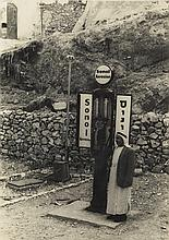 (GAS STATIONS) Group of 60 photographs of filling stations in Palestine,