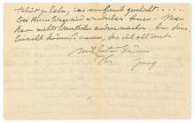 JUNG, CARL GUSTAV. Autograph Letter Signed,