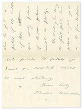 "ROOSEVELT, THEODORE. Autograph Letter Signed, to unnamed recipients (""Gentleman""),"