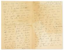 FRANCE, ANATOLE. Autograph Letter Signed, to an unnamed recipient (