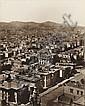 MUYBRIDGE, EADWEARD (1830-1904) Thirteen-part panorama of San Francisco, California.