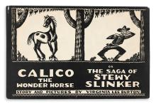 (CHILDREN'S LITERATURE.) BURTON, VIRGINIA LEE. Calico the Wonder Horse or The Saga of Stewy Stinker.