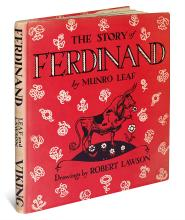(CHILDREN'S LITERATURE.) LEAF, MUNRO and LAWSON, ROBERT. The Story of Ferdinand.