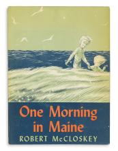 (CHILDREN'S LITERATURE.) McCLOSKEY, ROBERT. One Morning in Maine.