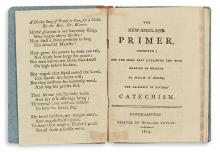(CHILDREN'S LITERATURE.) The New England Primer, Improved; For the More Easy Attaining the True Reading of English.