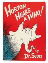 (CHILDREN'S LITERATURE.) SEUSS DR. (Theodor Geisel.) Horton Hears a Who!
