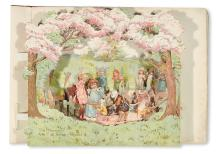(CHILDREN'S LITERATURE.) WEATHERLY, FREDERICK. Peeps into Fairyland. A Panorama Picture Book of Fairy Stories.