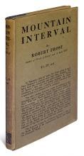 FROST, ROBERT. Mountain Interval.