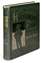 TWAIN. MARK. Adventures of Huckleberry Finn.