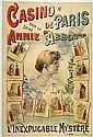 ABBOTT Annie May. Casino de Paris tous les Soirs. Annie Abbott. L'Inexplicable Mystère.
