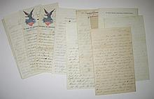 (CIVIL WAR.) Group of 17 Civil War letters.