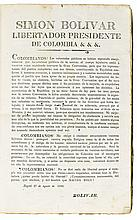 (PERU.) Compilation of newspapers, pamphlets and broadsides, many relating to war with Gran Colombia.