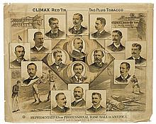 (BASEBALL.) Representatives of Professional Base Ball in America.
