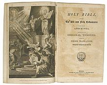 (BIBLE IN ENGLISH.) The Holy Bible, Containing the Old and New Testaments.