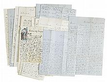 (CIVIL WAR--PENNSYLVANIA.) King, Frank. Extensive archive of letters by a member of the Bucktail Regiment.