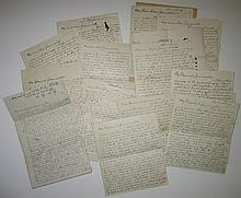 (NEW YORK CITY.) Craig, Paul N. Archive of letters from a young Missouri man experiencing New York for the first time.