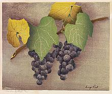 LUIGI RIST The Bunches of Grapes.