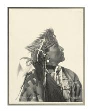 (AMERICAN INDIANS--PHOTOGRAPHS.) Rinehart, Frank A. Little Cloud.