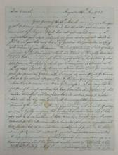 (AMERICAN REVOLUTION.) Wereat, John. Description of guerilla warfare in Georgia near the end of the war.