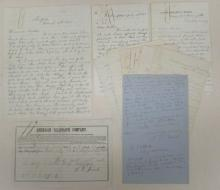 (CIVIL WAR--NEW YORK.) Correspondence of a young soldier friend of Smithsonian curator Spencer Baird.