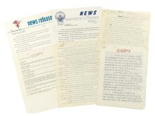 (KENNEDY, JOHN F.) Archive of Kennedy presidential campaign documents and related papers.