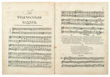 [KEY, FRANCIS SCOTT.] The Star Spangled Banner.