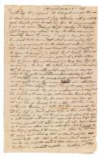 (MASSACHUSETTS.) Hoyt, Epaphras. An officer's long eyewitness description of the principal battle of Shays' Rebellion.