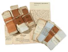(MASSACHUSETTS.) Archive of Spear-Perkins family papers relating to the John Hancock estate.