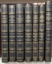 (MASSACHUSETTS.) Matched set of 5 editions of early New England histories.