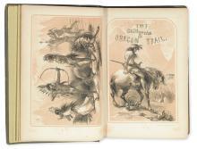 (TRAVEL.) Parkman, Francis. The California and Oregon Trail.