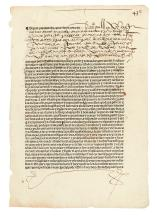 (MEXICO--1565.) A very early Mexican carta de poder (power of attorney) document.