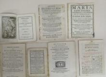 (MEXICO--1645.) Group of 7 pamphlets printed in Mexico.