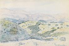 FREDERICK CARL FRIESEKE Hillside, Cagnes, France.