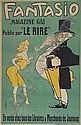 AUGUSTE ROUBILLE (1872-1955) FANTASIO. 1906. 46x30 inches. R. Monod, Poirre & Co., Paris., Auguste Jean-Bapt. Roubille, Click for value