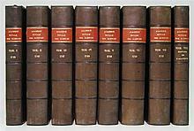 ACADÉMIE ROYALE DES SCIENCES ET BELLES LETTRES, Berlin. Histoire.  8 vols.  1746-53