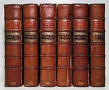 ACTA ERUDITORUM.  Opuscula omnia Actis Eruditorum Lipsiensibus inserta.  Vols. 1-6 (of 7).  1740-46